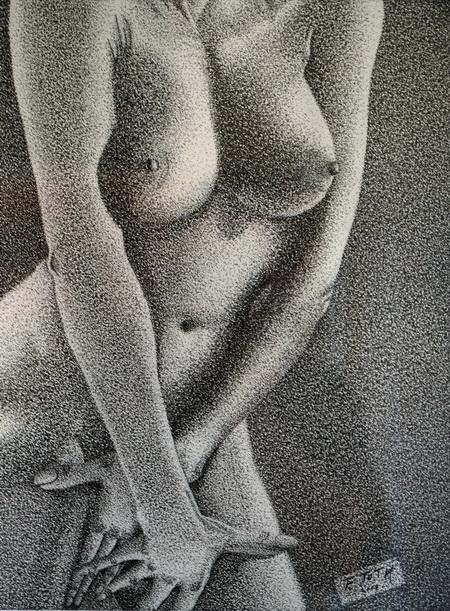 Franz Toth, weiblicher Akt