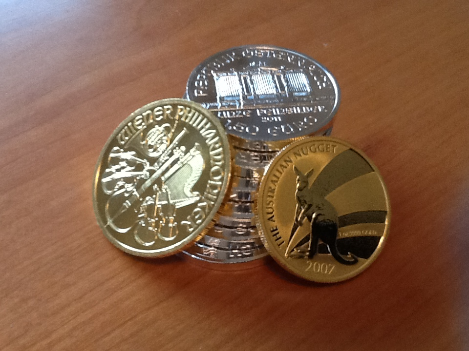 Münzen - wahres Geld