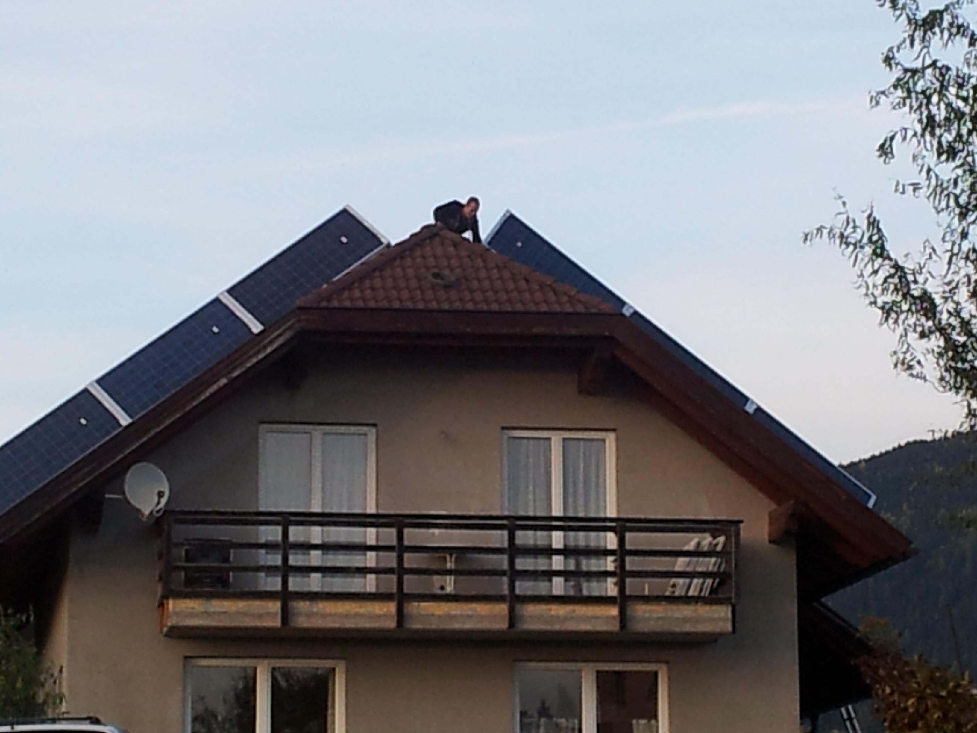 Projekt X mit Hybrid Solarmodulen in Kärnten