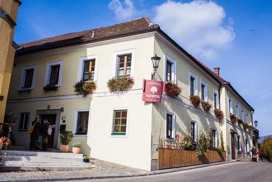 Landhotel Yspertal, Innenhof